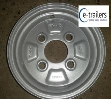 2.50A x 8 4 STUD 100MM PCD ET0 STARCO WHEEL RIM
